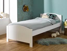 chambre opale blanc lit enfant opale blanc pin massif 90x200 chambrekids