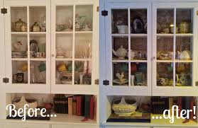 a touch of whimsy diy china cabinet makeover