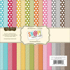 halloween colored scrapbooking background papers amazon com