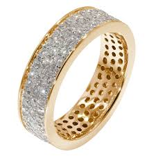 gold eternity rings 18ct yellow gold 2 4 carat diamond eternity ring jewellery