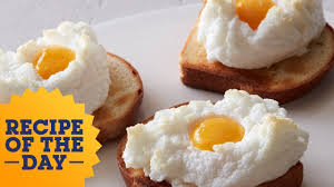 recipe of the day cloud eggs food network youtube