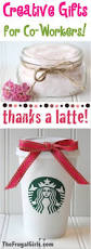 creative gift ideas for co workers the frugal girls