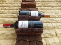 unique wood wine rack 36 x 8 x 4 unique wine rack unique