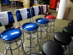 retro bar stools that look like they are from the 1950s youtube