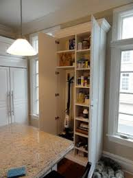 pantry broom closet traditional kitchen new york by andrea