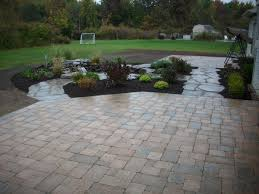 Backyard Patio Pavers Paver Patio Design Buffalo Ny Patio Installation
