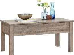 table 2 pc rhette weathered grey coffee table end table set