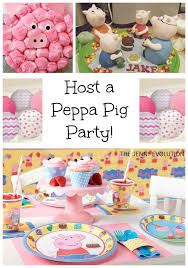 peppa pig party peppa pig party ideas pig birthday birthday party ideas and
