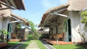 gili breeze tropical bungalows gili trawangan indonesia youtube