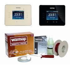 warmup dws800 loose wire underfloor heating kit uk bathrooms