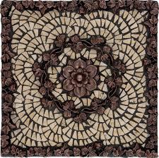 Kitchen Backsplash Metal by Metal Mural Athena Mosaic Tile Trends Also Kitchen Backsplash