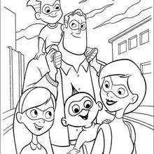 printable 12 the incredibles coloring pages 10419 the incredible
