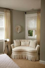 traditional home designs cream sofa bedroom sitting area