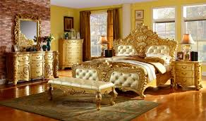bedroom nice classic european style gold bedroom furniture sets