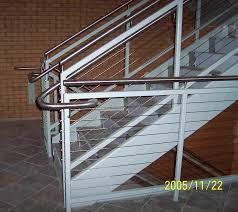 Handicap Handrail H U0026 A Enterprises Inc 770 560 4477 Cable Rail Ada Stainless