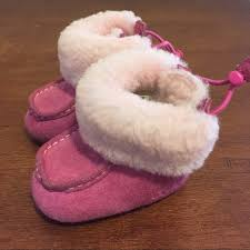 infant ugg boots sale 75 ugg other fuzzy pink baby ugg boots from emily s closet