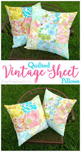 Sewing Ideas For Home Decorating Best 25 Vintage Sheets Ideas On Pinterest Baby Bunting Sale