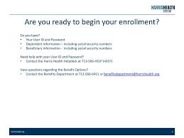 social security help desk peoplesoft benefits self enrollment instructions ppt video online