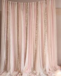 Sparkle Window Curtains by Pink White Lace Fabric Gold Sparkle Photobooth Backdrop Wedding