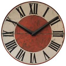 Giant Clocks by Giant Vintage French Painted Iron Clock Face At 1stdibs