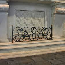 antique fireplace fender realm of design inc