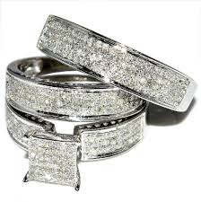 cheap wedding sets for him and jewelry rings awesome wedding rings sets for him and images