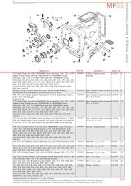 massey ferguson transmission u0026 pto page 229 sparex parts lists