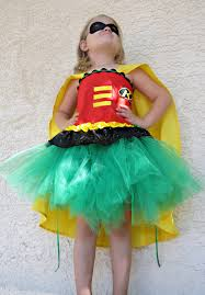 superhero tutu costume for girls corset top and mask included