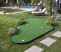 backyard putting green designs grass turf national city california