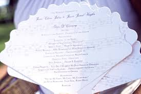 fan programs for wedding wedding fan programs theme wedding programs baltimore