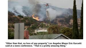 three homes lost 2 injured largest wildfire in los angeles