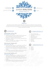 Openoffice Resume Templates The Emma Resume Creative Resume Template