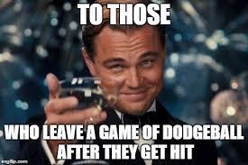 Dodgeball Movie Memes - leonardo dicaprio cheers meme imgflip