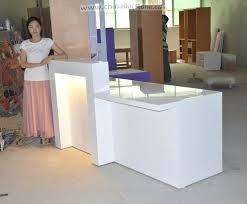desk european style salon artificial stone reception desk