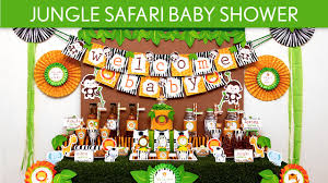 Youtube Baby Shower Ideas by Jungle Safari Baby Shower Party Ideas Jungle Safari S50 Youtube