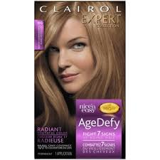 top over the counter hair color clairol expert nice n easy age defy permanent hair color 1 kit