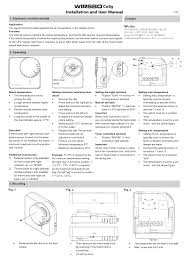 wirsbo thermostat manual 28 images uponor thermostat manual
