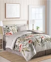 Palm Tree Bedspread Sets Sunham Bed In A Bag And Comforter Sets Queen King U0026 More Macy U0027s