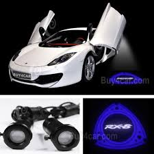 rx8 car door step projector welcome led light laser lamp 3d shadow logo