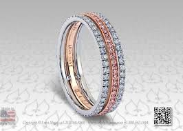 Pink Diamond Wedding Ring by