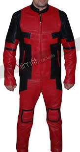 Deadpool Halloween Costume Party Deadpool Video Game Leather Cosplay Costume Jacket