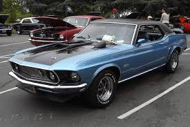 1969 mustang grande winter blue 1969 ford mustang grande hardtop mustangattitude com