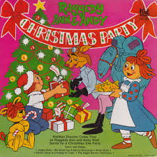 raggedy ann u0026 andy christmas party name that christmas special
