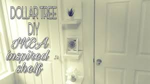 tree bookshelf ikea dollar tree diy ikea inspired shelf youtube