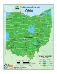 Garden Planting Zones - usda plant hardiness zones muskingum extension ag dispatch
