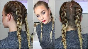 extension braids braids how to hide clip ins extensions gemmacliffordxo