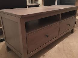 ikea hemnes grey brown tv unit and coffee table in greenhithe