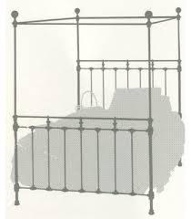 Iron Canopy Bed Brass Beds Of Virginia U003cbr U003e Americana Iron Canopy Bed