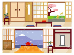 Japanese Living Room Japanese Living Room Royalty Free Cliparts Vectors And Stock