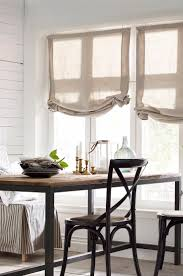 Kitchen Window Treatments Ideas Best 25 Linen Roman Shades Ideas Only On Pinterest Roman Blinds